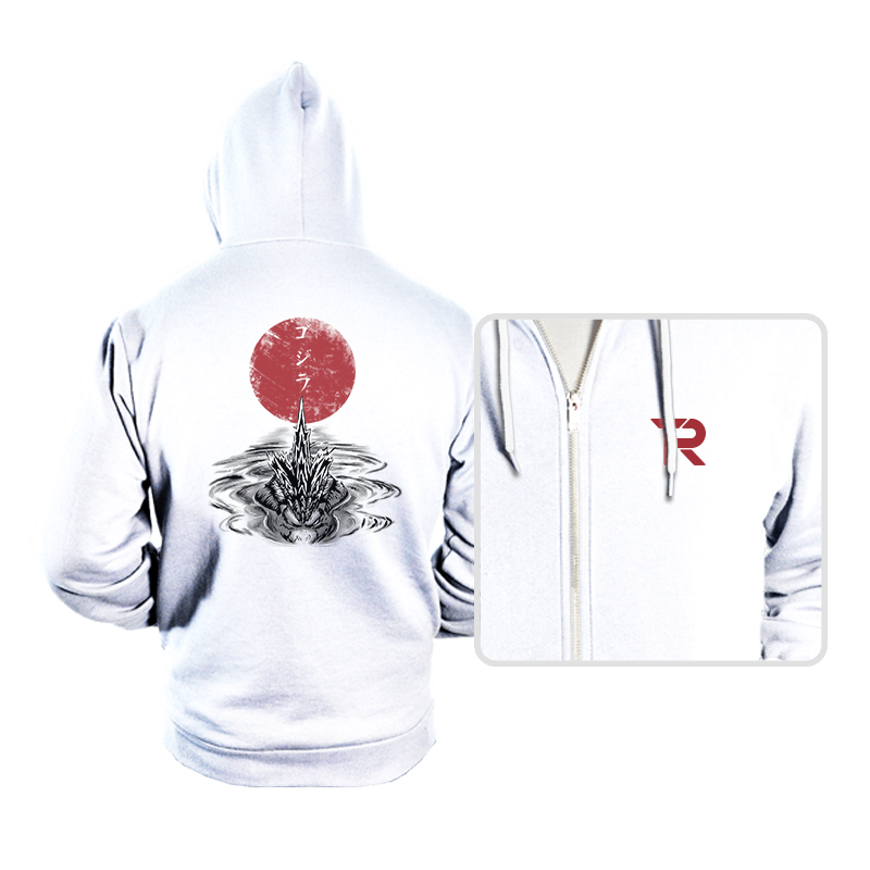 Red Sun Alpha Predator - Hoodies - Hoodies - RIPT Apparel