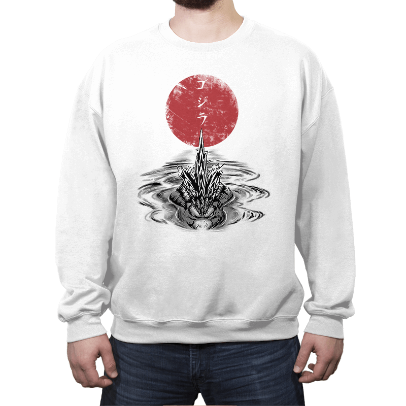 Red Sun Alpha Predator - Crew Neck - Crew Neck - RIPT Apparel