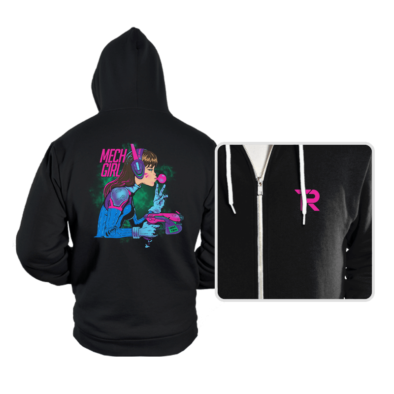 Mech Girl - Hoodies - Hoodies - RIPT Apparel