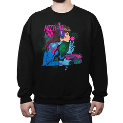 Mech Girl - Crew Neck - Crew Neck - RIPT Apparel