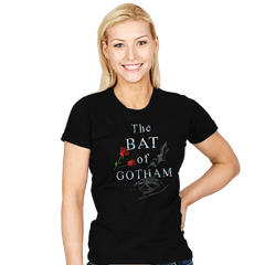 The Bat of Gotham - Womens - T-Shirts - RIPT Apparel