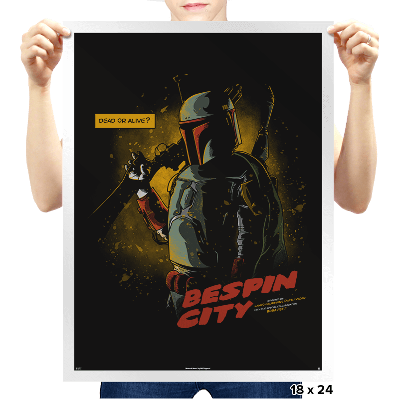 Bespin City - Prints - Posters - RIPT Apparel