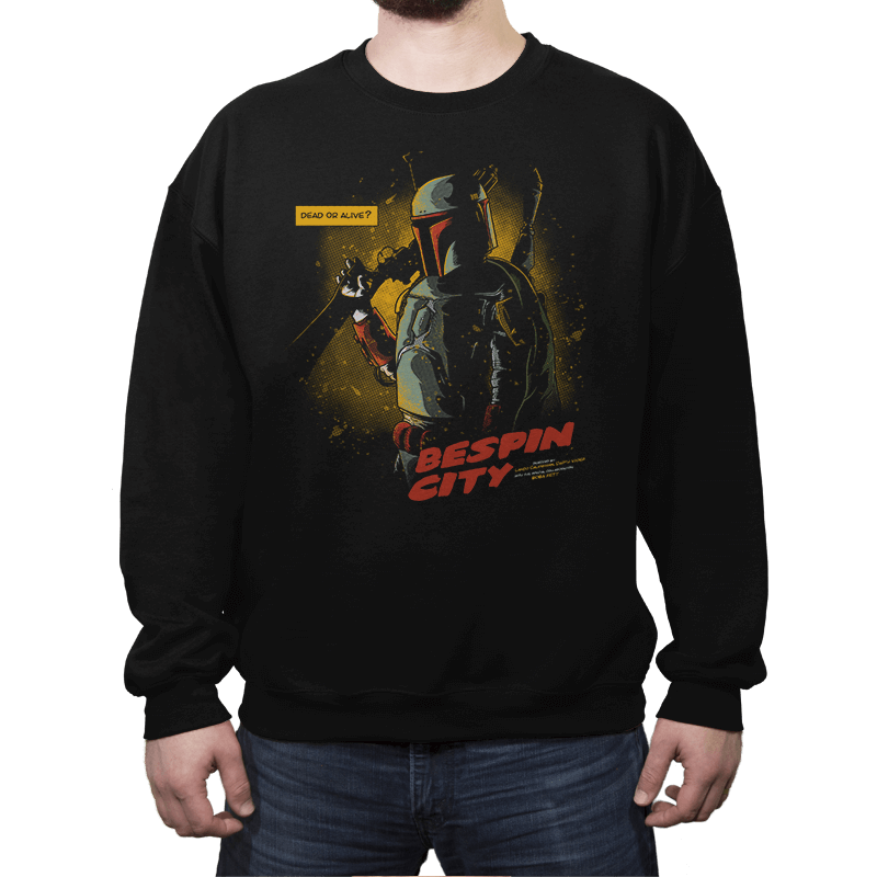 Bespin City - Crew Neck Sweatshirt - Crew Neck Sweatshirt - RIPT Apparel