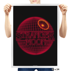 Stranger Moon - Prints - Posters - RIPT Apparel