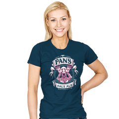 Pan's Pale Ale - Womens - T-Shirts - RIPT Apparel