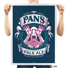 Pan's Pale Ale - Prints - Posters - RIPT Apparel