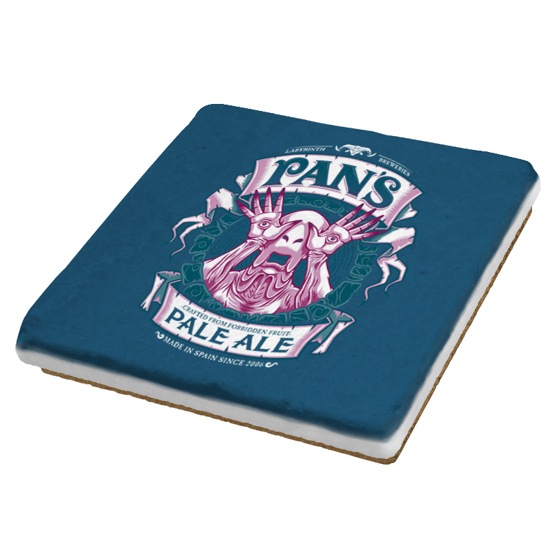 Pan's Pale Ale - Coasters - Coasters - RIPT Apparel