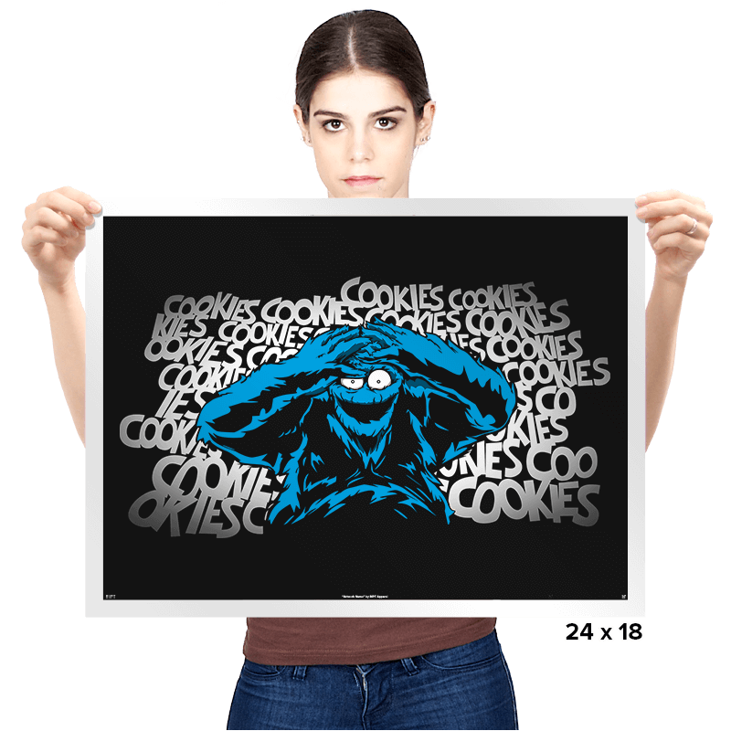 Just One Bad Cookie - Prints - Posters - RIPT Apparel