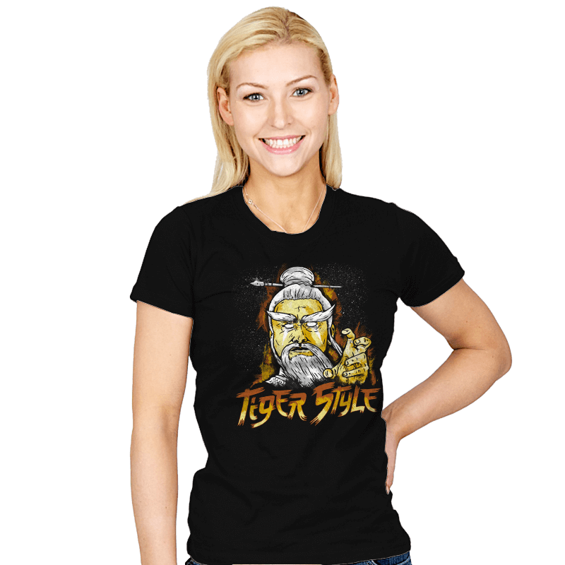 Tiger Style - Womens - T-Shirts - RIPT Apparel