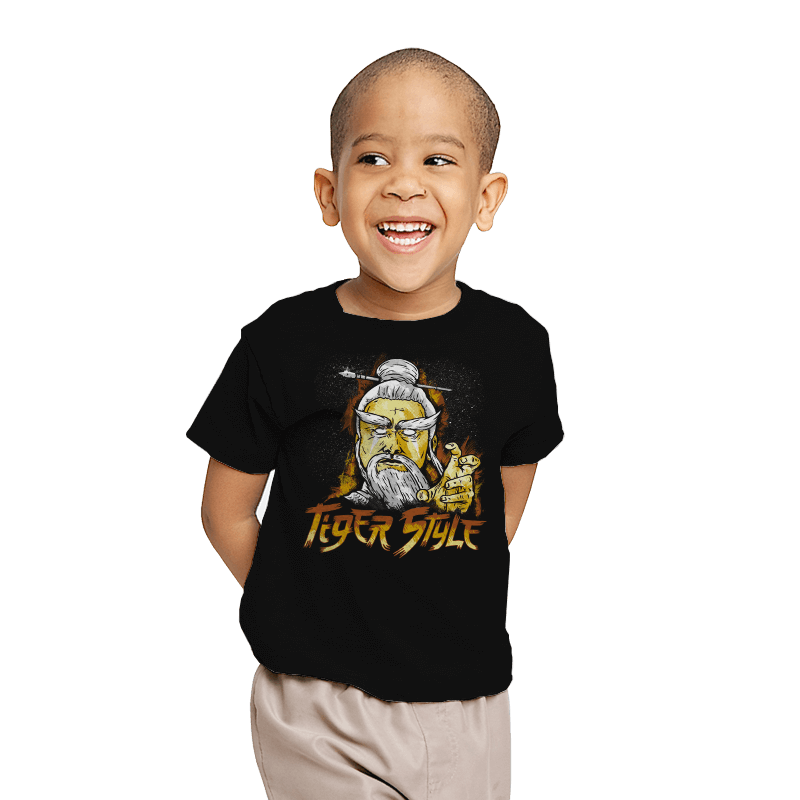 Tiger Style - Youth - T-Shirts - RIPT Apparel