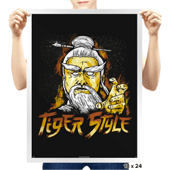 Tiger Style - Prints - Posters - RIPT Apparel