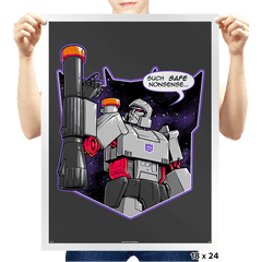 Orange Capped Commander - Prints - Posters - RIPT Apparel