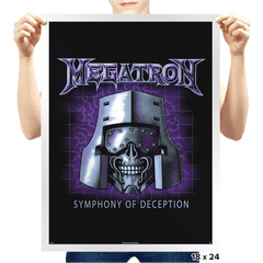 Symphony of Deception - Prints - Posters - RIPT Apparel