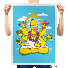 Homervana - Prints - Posters - RIPT Apparel