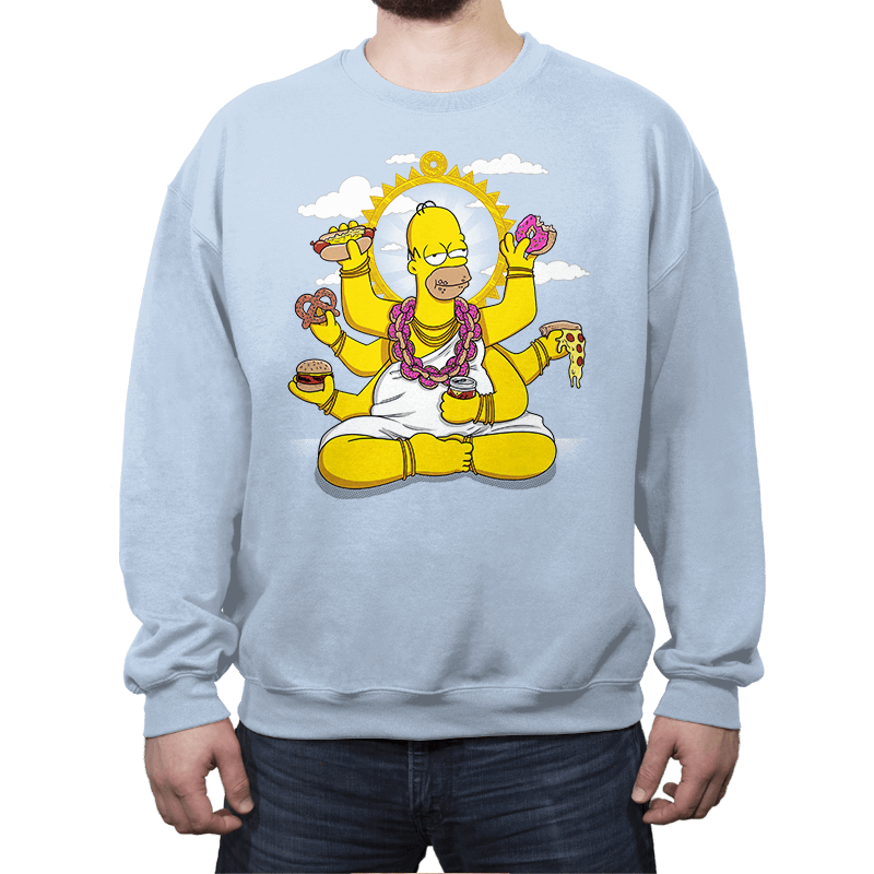 Homervana - Crew Neck - Crew Neck Sweatshirt - RIPT Apparel