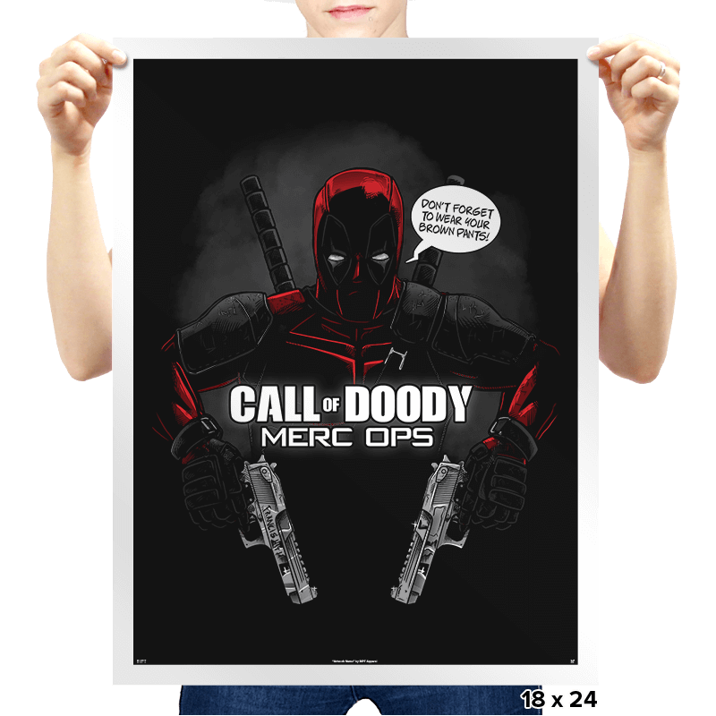 Call of Doody - Prints - Posters - RIPT Apparel