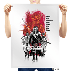 Fantastical Basterds - Prints - Posters - RIPT Apparel