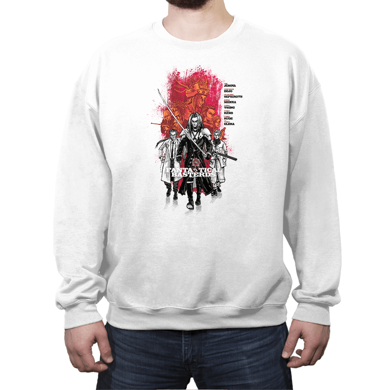 Fantastical Basterds - Crew Neck Sweatshirt - Crew Neck Sweatshirt - RIPT Apparel