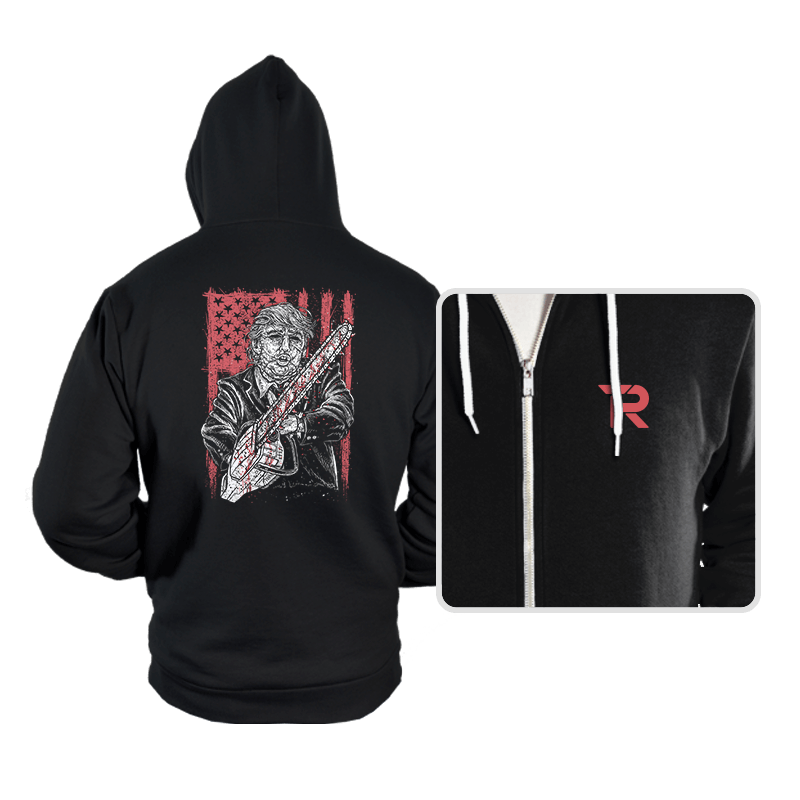 Don Chainsaw Massacre - Hoodies - Hoodies - RIPT Apparel