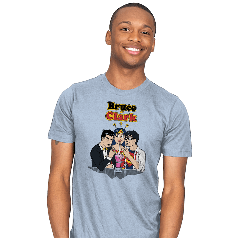 Bruce or Clark - Mens - T-Shirts - RIPT Apparel