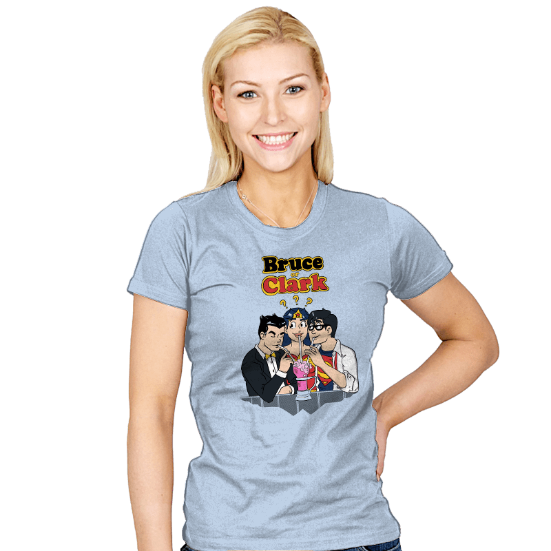 Bruce or Clark - Womens - T-Shirts - RIPT Apparel