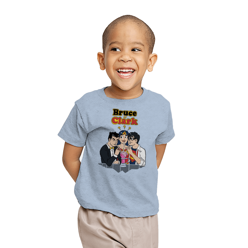 Bruce or Clark - Youth - T-Shirts - RIPT Apparel