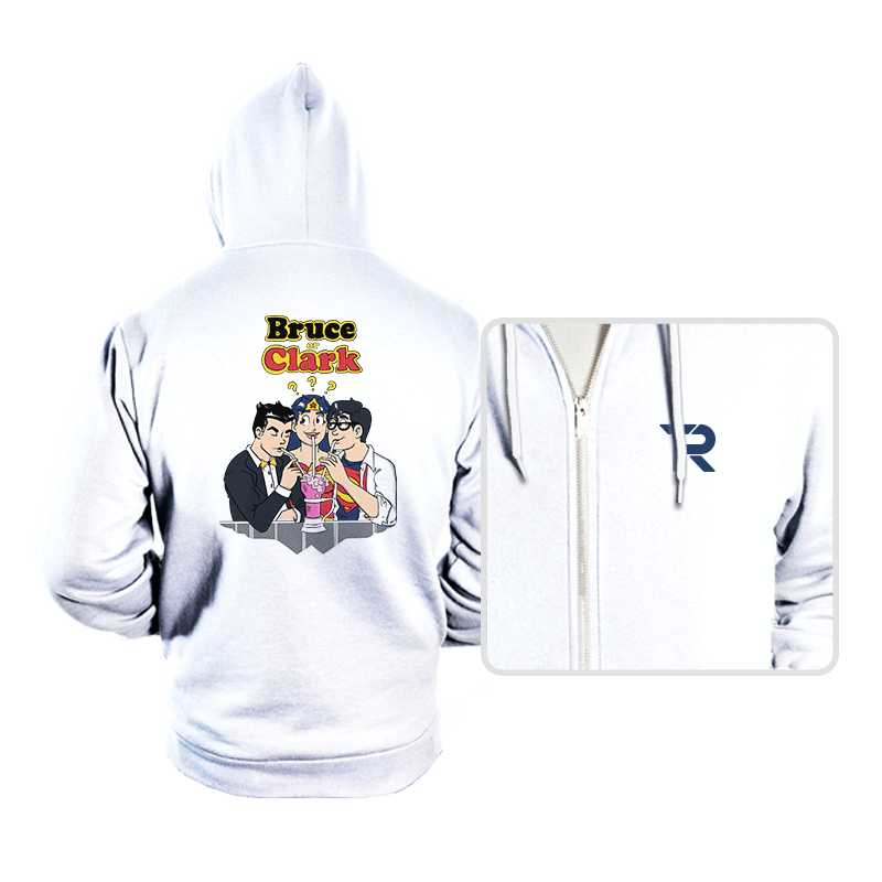 Bruce or Clark - Hoodies - Hoodies - RIPT Apparel