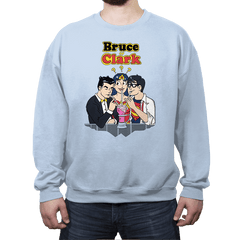 Bruce or Clark - Crew Neck - Crew Neck - RIPT Apparel