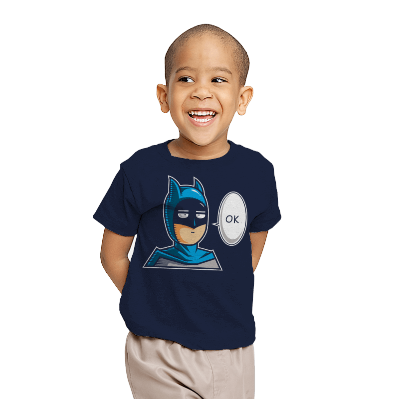 One Punch Bat  - Youth - T-Shirts - RIPT Apparel