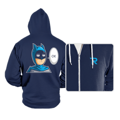 One Punch Bat  - Hoodies - Hoodies - RIPT Apparel