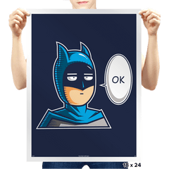One Punch Bat  - Prints - Posters - RIPT Apparel