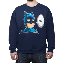 One Punch Bat  - Crew Neck - Crew Neck - RIPT Apparel