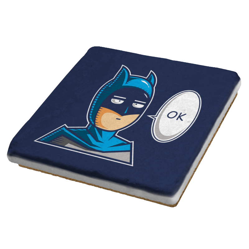 One Punch Bat  - Coasters - Coasters - RIPT Apparel