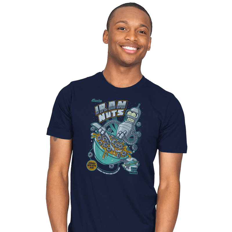 IRON NUTS - Mens - T-Shirts - RIPT Apparel