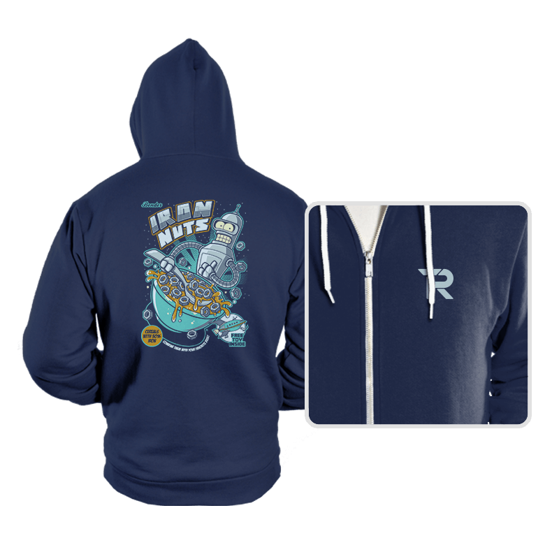 IRON NUTS - Hoodies - Hoodies - RIPT Apparel