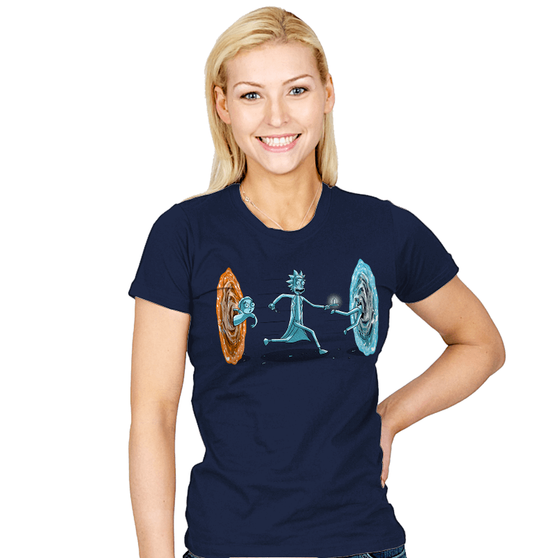 Drunken Portal - Womens - T-Shirts - RIPT Apparel
