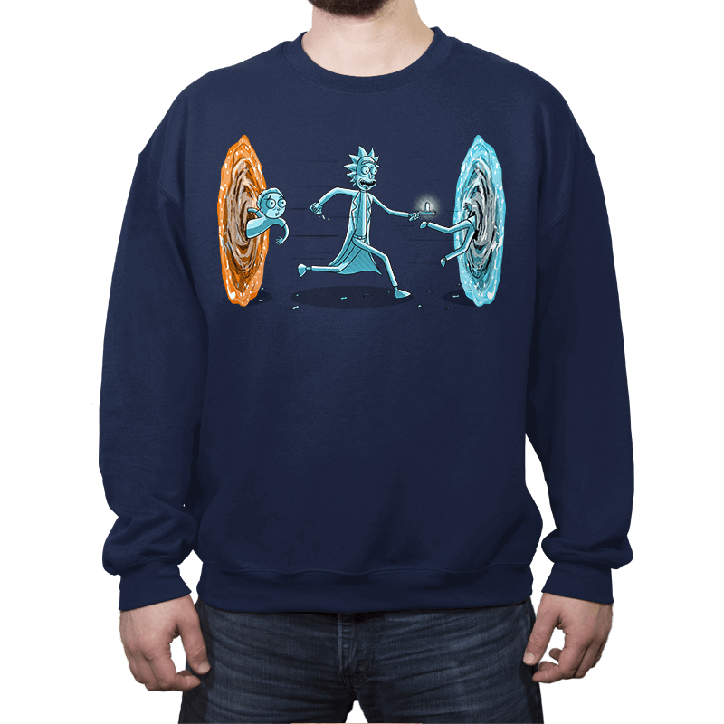Drunken Portal - Crew Neck Sweatshirt - Crew Neck Sweatshirt - RIPT Apparel