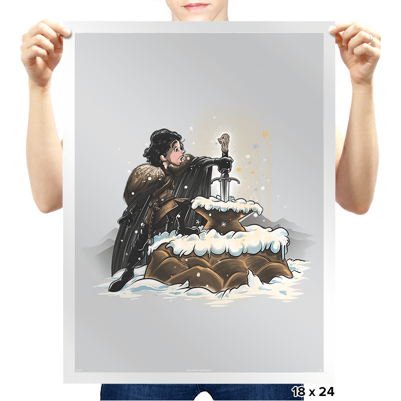 King In The North - Prints - Posters - RIPT Apparel