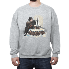 King In The North - Crew Neck Sweatshirt - Crew Neck Sweatshirt - RIPT Apparel