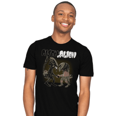 Alien v Alien - Bazaar - Mens - T-Shirts - RIPT Apparel