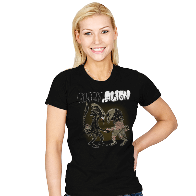 Alien v Alien - Bazaar - Womens - T-Shirts - RIPT Apparel
