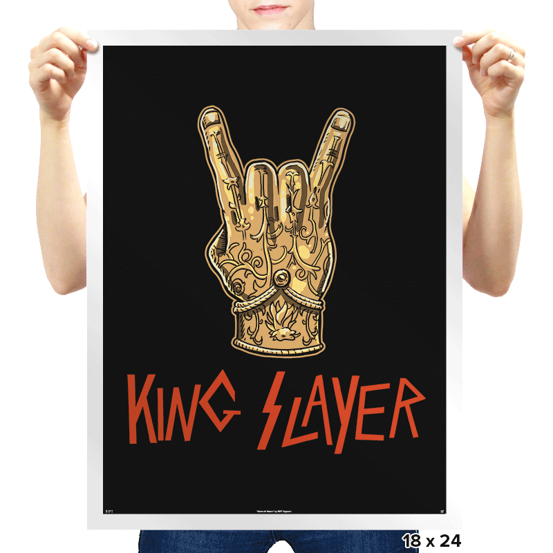 Kingslayer - Bazaar - Prints - Posters - RIPT Apparel
