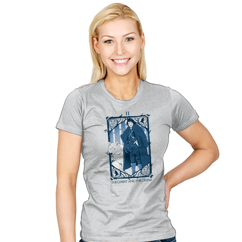 The Ghost and the Crow Tarot - Bazaar - Womens - T-Shirts - RIPT Apparel
