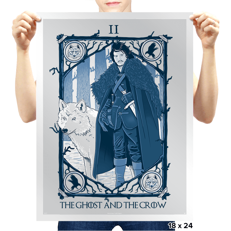 The Ghost and the Crow Tarot - Bazaar - Prints - Posters - RIPT Apparel