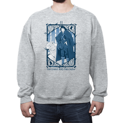 The Ghost and the Crow Tarot - Bazaar - Crew Neck - Crew Neck - RIPT Apparel