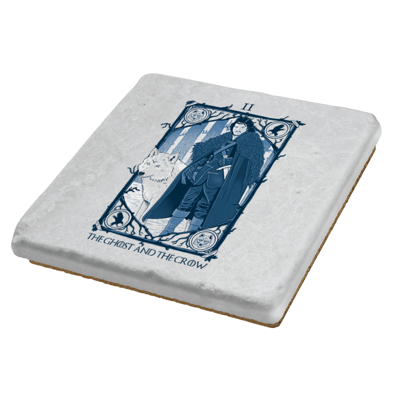 The Ghost and the Crow Tarot - Bazaar - Coasters - Coasters - RIPT Apparel