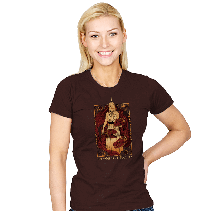 The Mother of Dragons Tarot - Bazaar - Womens - T-Shirts - RIPT Apparel