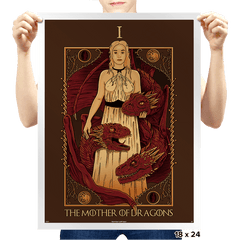 The Mother of Dragons Tarot - Bazaar - Prints - Posters - RIPT Apparel