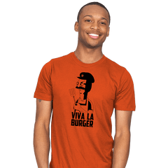 Viva La Burger - Bazaar - Mens - T-Shirts - RIPT Apparel