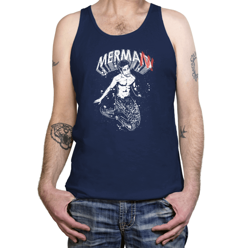 MerMan - Tanktop - Tanktop - RIPT Apparel